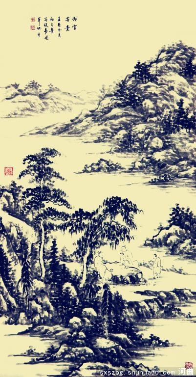 张丙官 2012年正月初三 国画新作