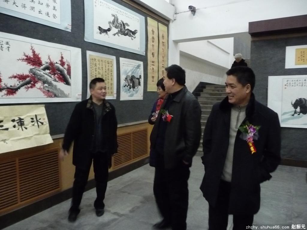 军旅骆驼王赵振元书画精品展4(开幕式)