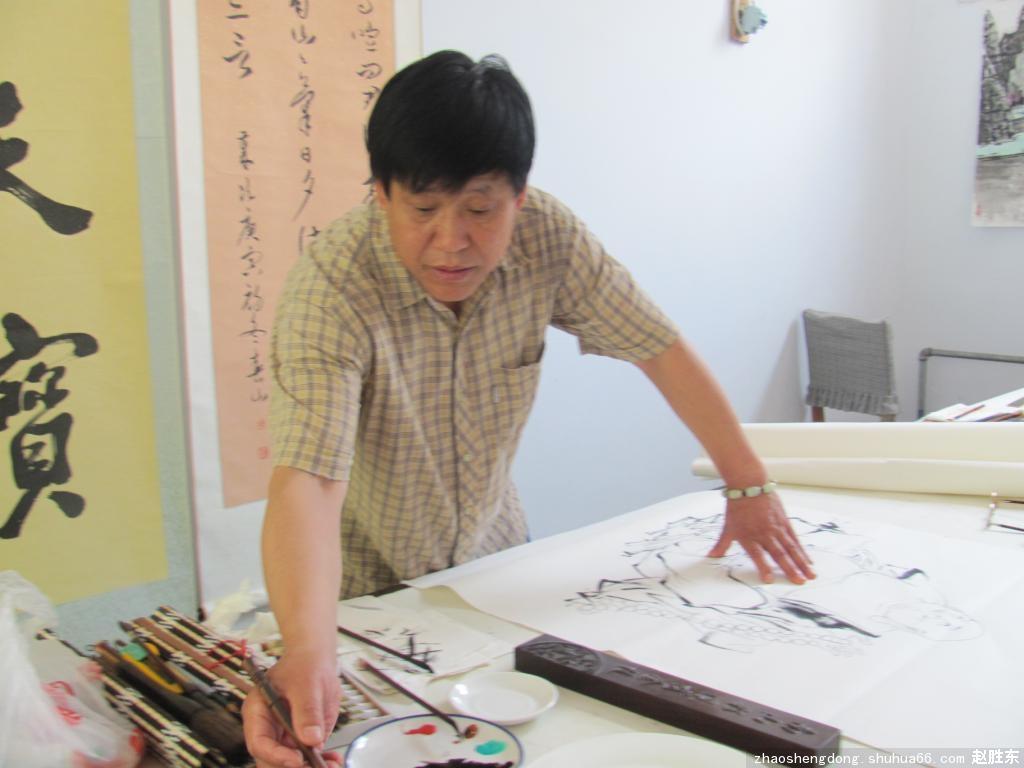 书画家园宜兴艺术运营中心参展作品集(第一期之三赵胜东)