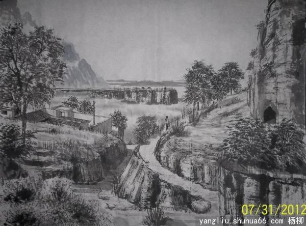 杨柳书画(