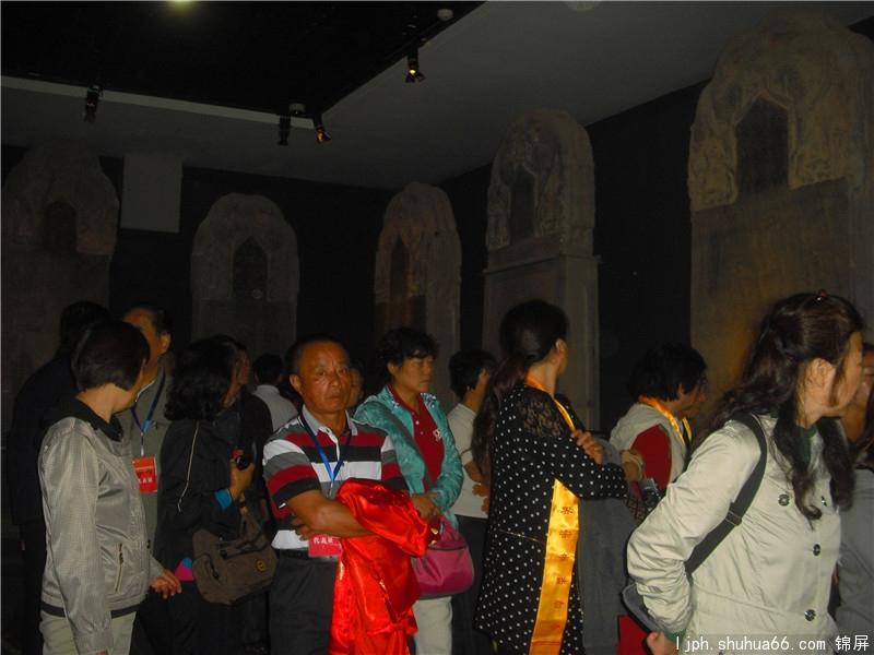 宗亲团咸阳行至礼泉县李世民的昭陵博物馆