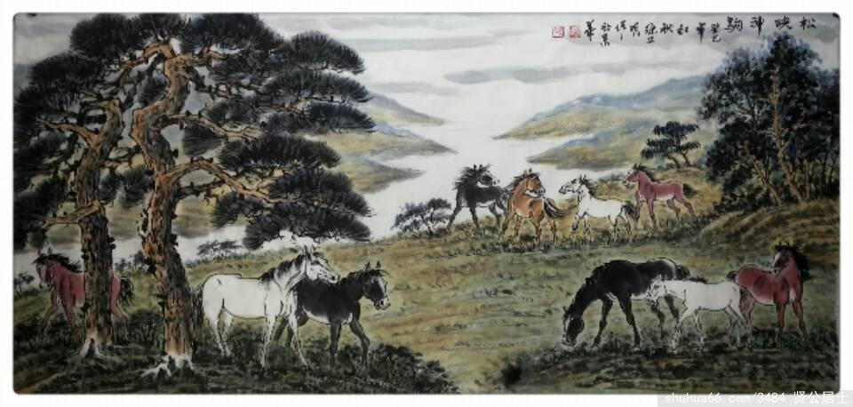 《紫骝马》 - 周石峰 - 画竹大师周石峰