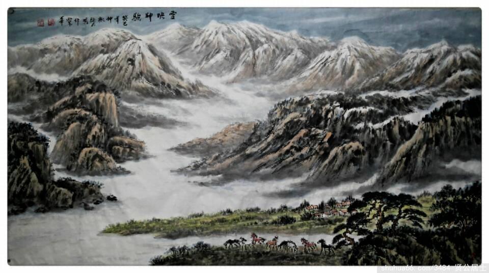 《塞马》 - 周石峰 - 画竹大师周石峰