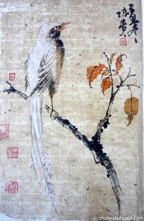 花歌竹语——陈贵花鸟画展作品之二