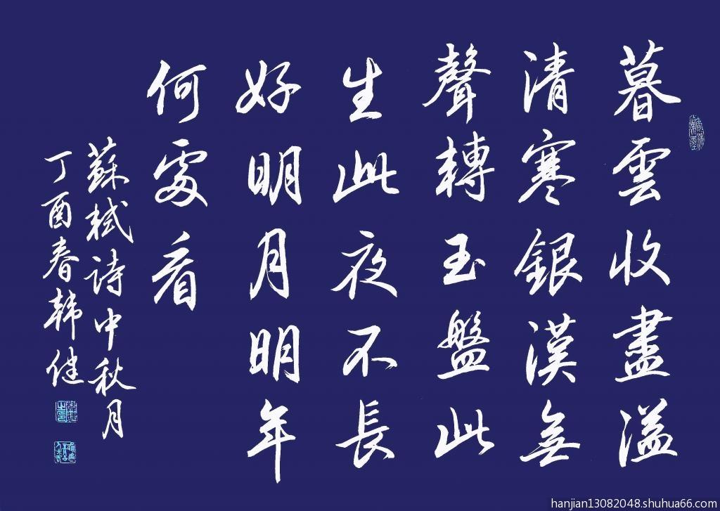 苏轼诗中秋月