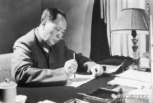 丹青飞狐打开问号:毛主席书法作品为何大都不盖印章?